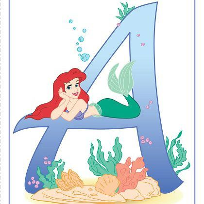 A is for Ariel